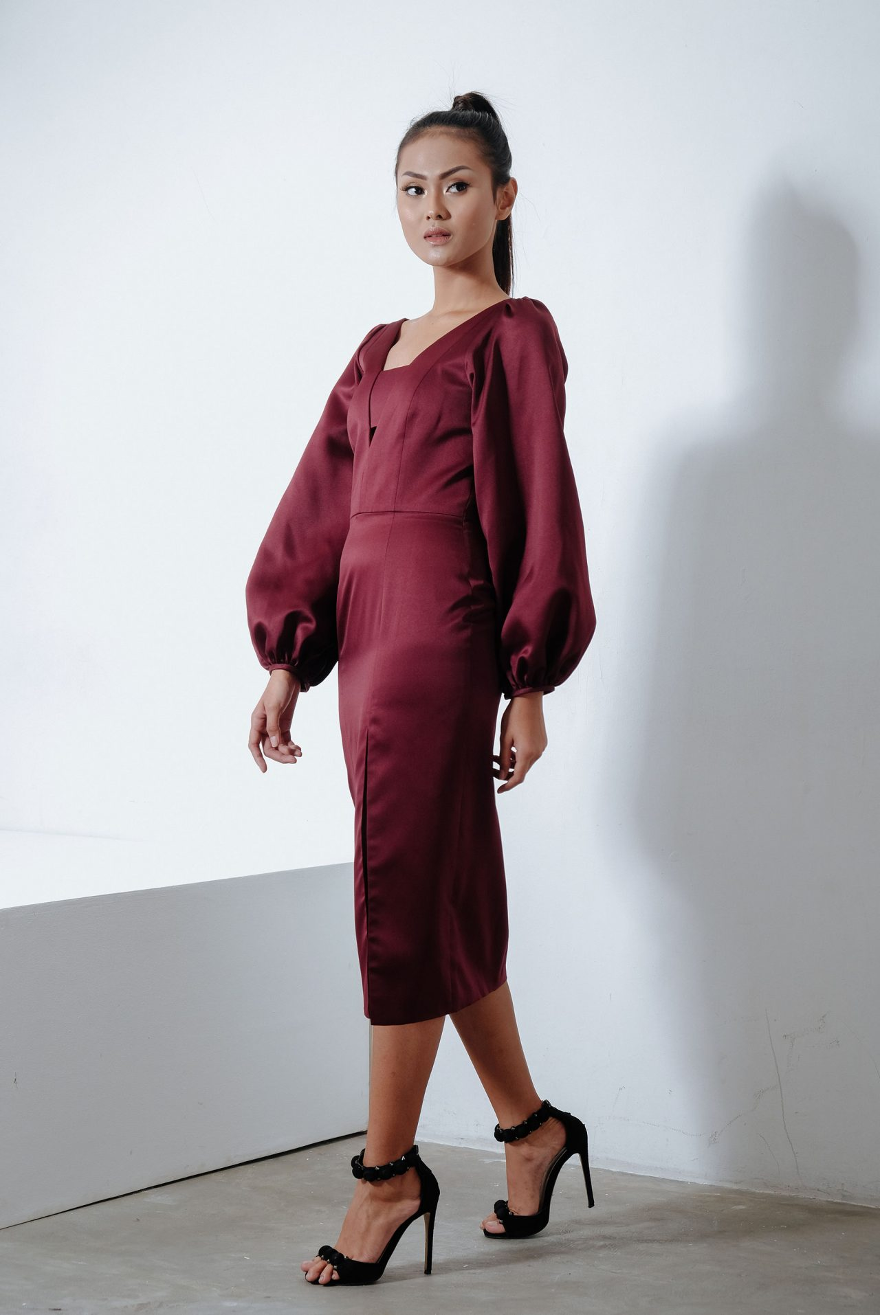 11114-Maroon-Bishop-Dress3