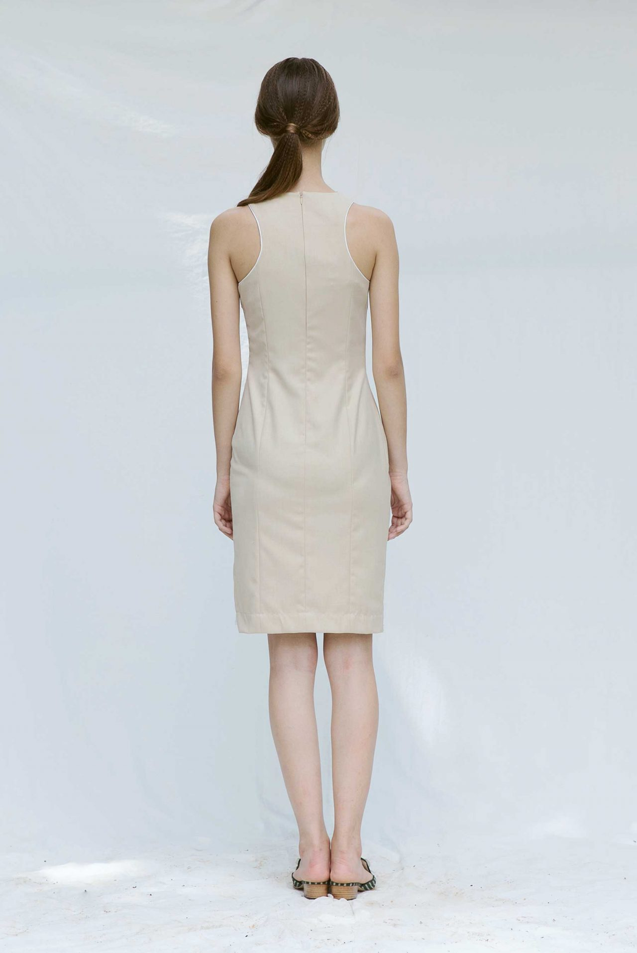 7104-ruched-midi-dress-with-slit3